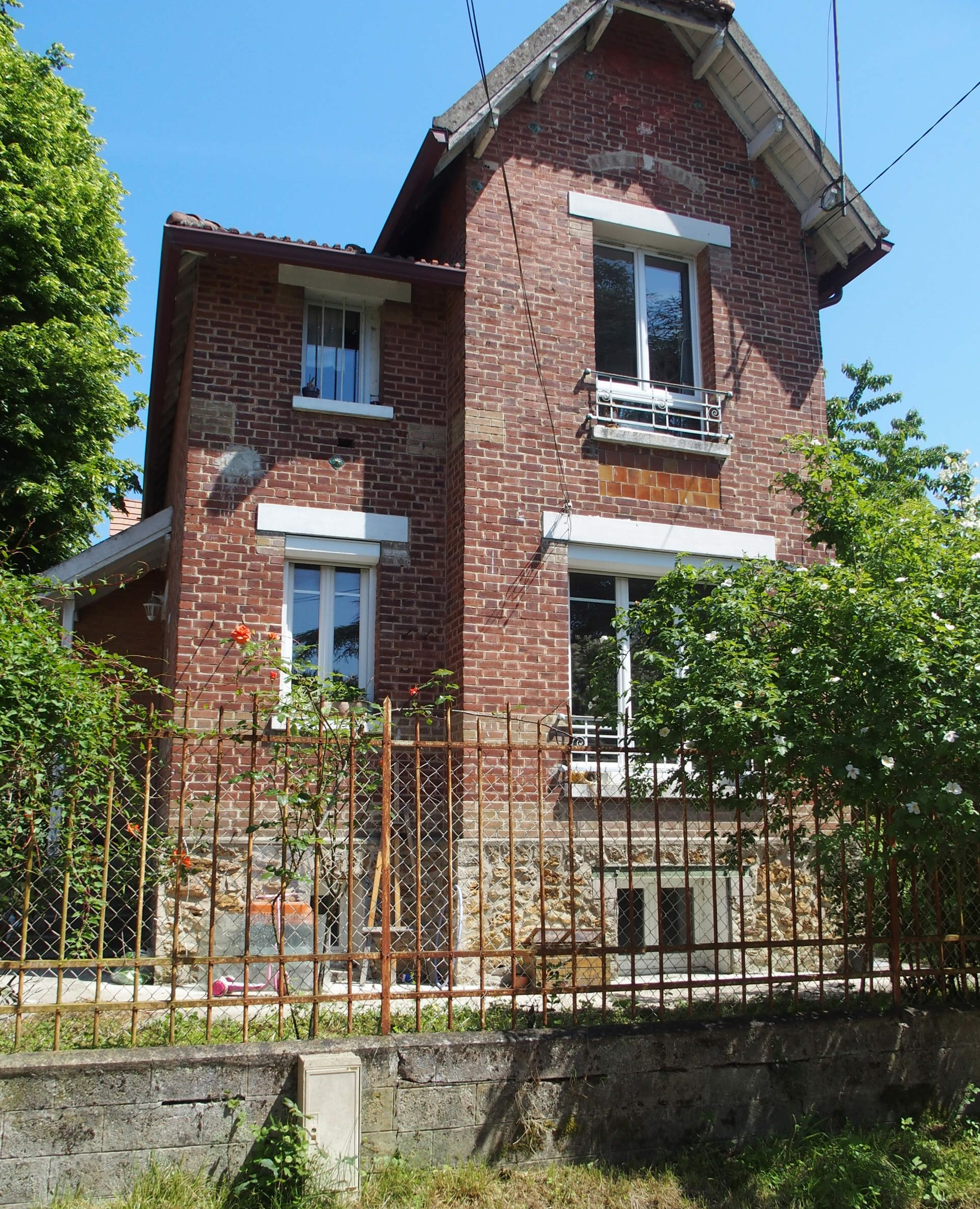 Extension maison 1920, Brunoy, 94