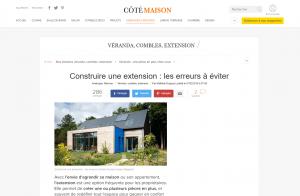 Passage Architecture | Construire une extension : les erreurs à éviter